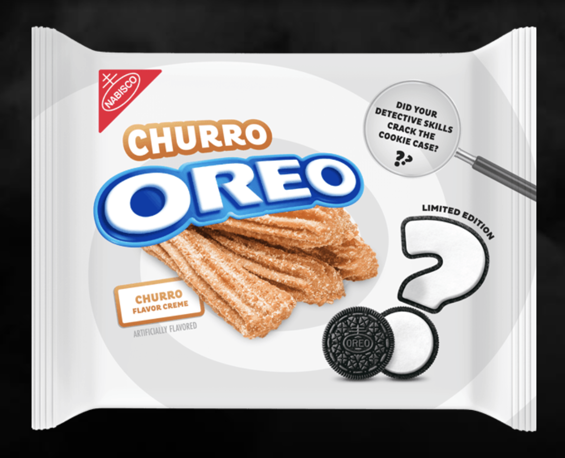 PSA: Oreo Revealed Its Mystery Cookie Is Filled With Churro-Flavored Creme