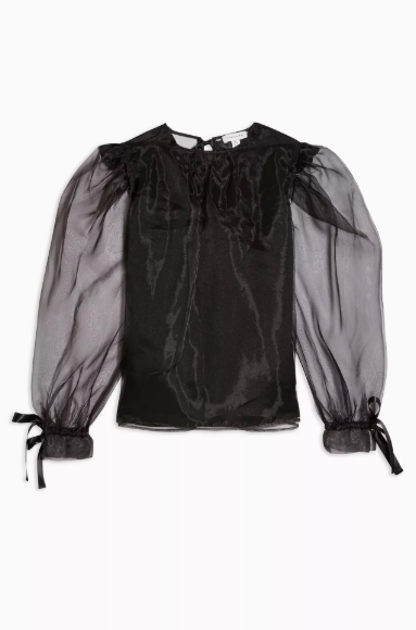 Sheer dress - sheer top