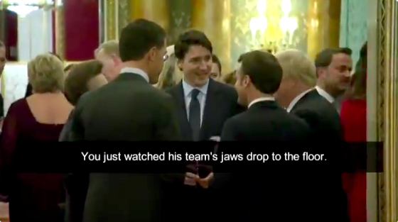 These World Leaders Definitely Aren't Laughing at Trump, Who Made Us Respected Again