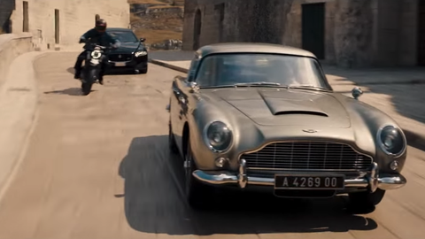 Newest Bond Movie Trailer Gives First Look at Car-Studded Film