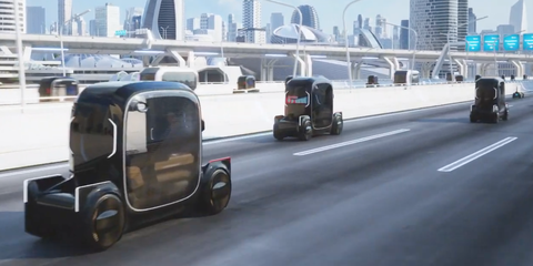 Toyota Intends to Move People in New Ways with New Kinds of Vehicles