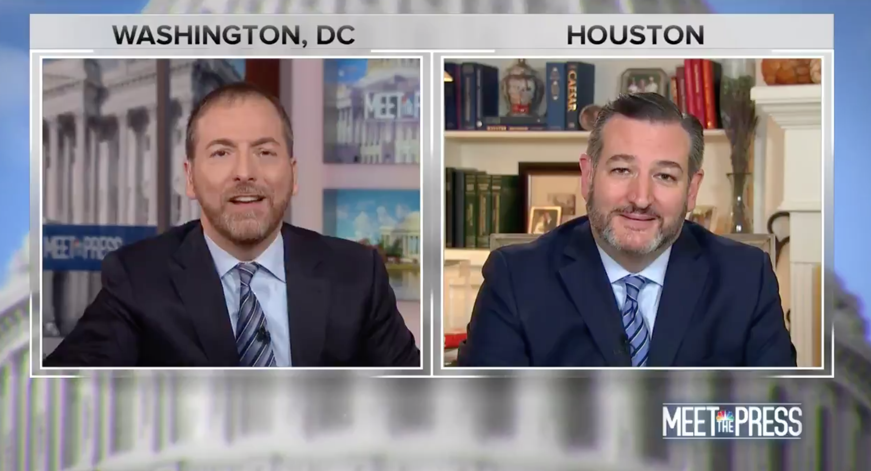 Ted Cruz Was Literally Laughed At During His Appearance On Meet the Press