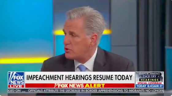 Kevin McCarthy Conjures Up the First-Term Rule in Defense of Trump