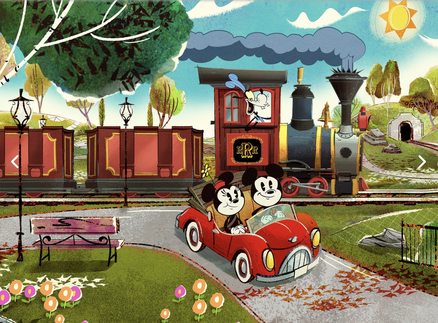 There's Finally an Opening Date for the First-Ever Mickey and Minnie Disney Ride