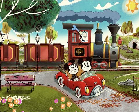 Cartoon, Animated cartoon, Illustration, Room, Games, Grass, Leisure, Art, Play, Animation,