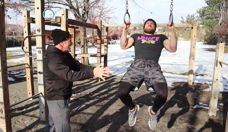 Watch the Buff Dudes Attempt the FBI Fitness Test