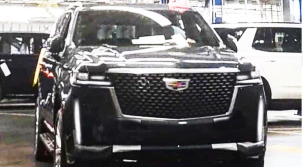 2021 Cadillac Escalade Spied Looking Handsome And Production Ready