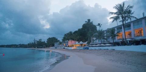 Tropics, Sky, Caribbean, Sea, Resort, Shore, Palm tree, Coast, Tree, Ocean,