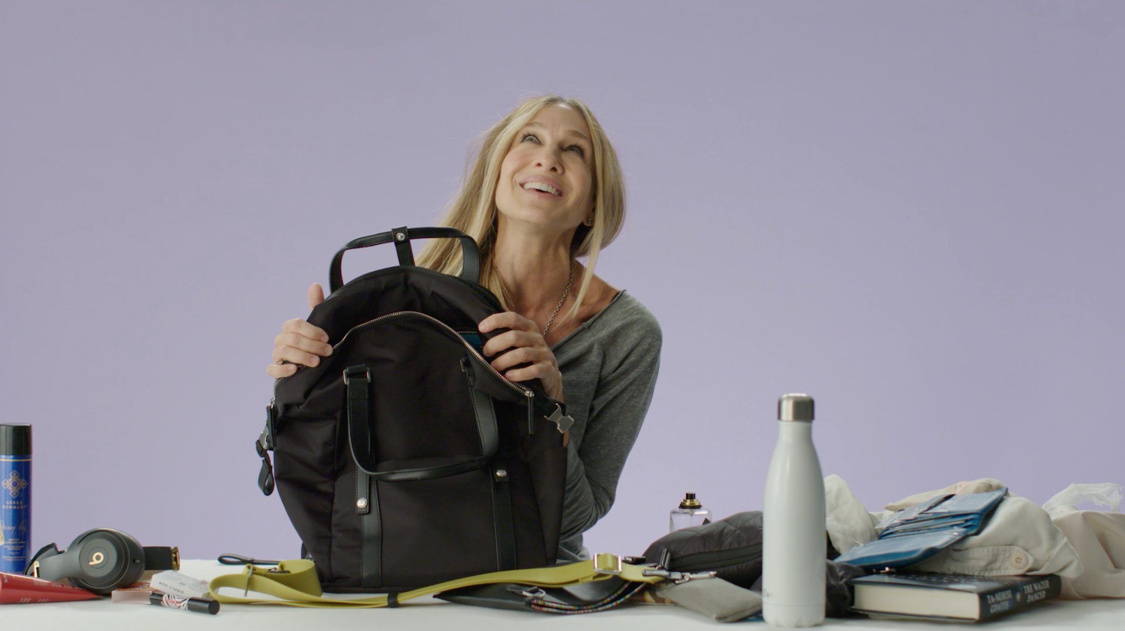 Sarah Jessica Parker Shows off What's in Her Backpack—an Oprah's Favorite Thing