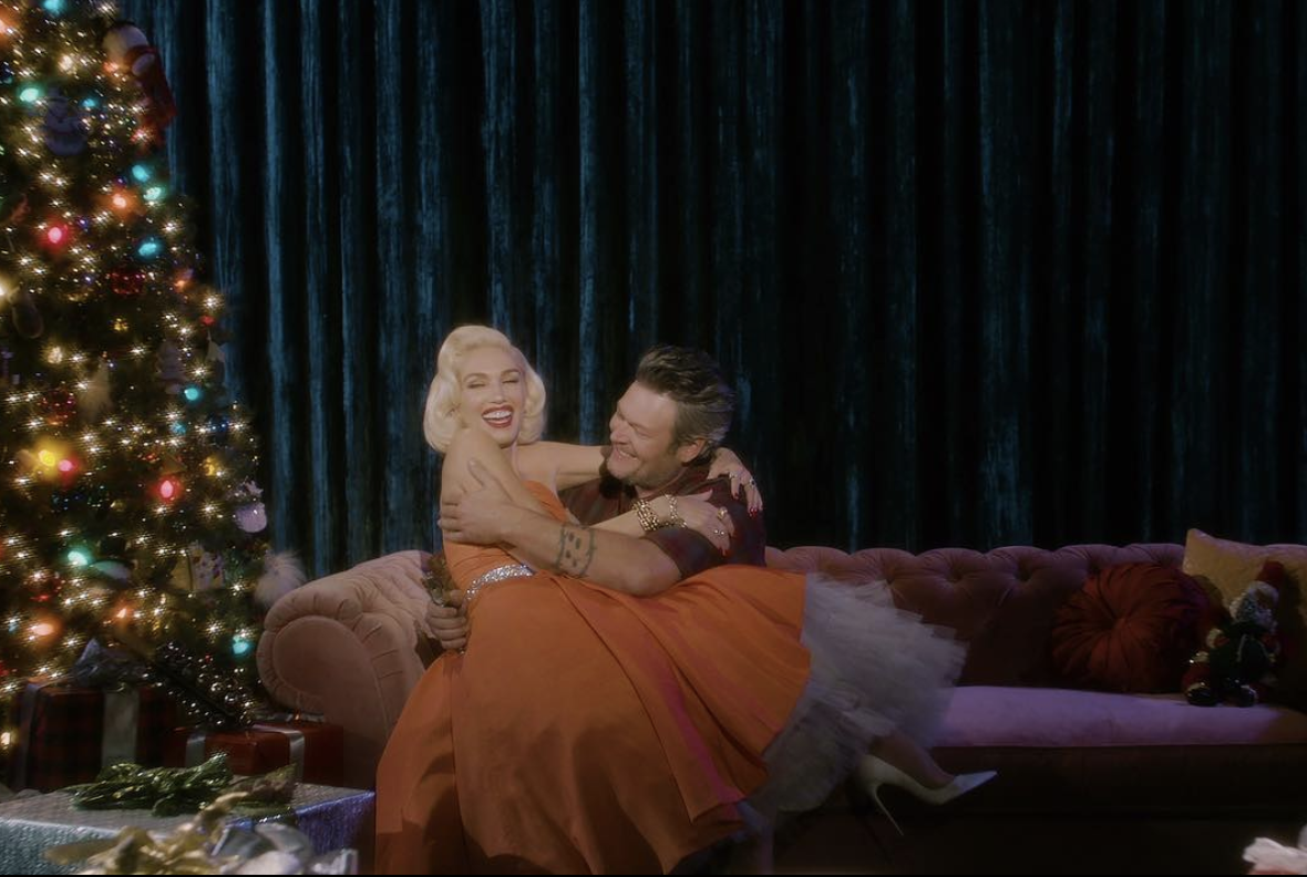 Leave It to Blake and Gwen to Have the Most Untraditional Holiday Traditions