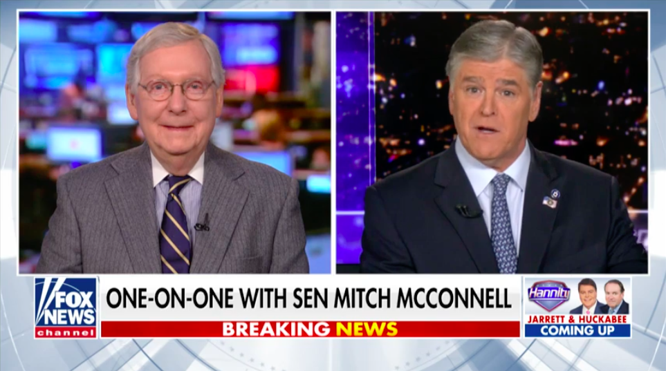 Mitch McConnell Just Out and Said the Senate Impeachment Trial Will Be a Sham