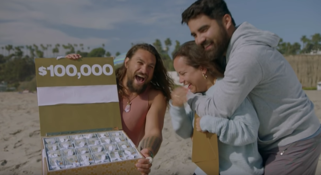 Jason Momoa Surprised a Couple With a Honeymoon After a Tragic Accident Delayed Theirs