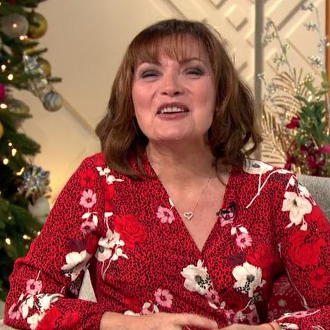 We love Lorraine Kelly's floral Wallis dress