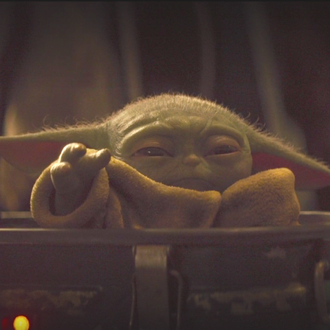 Is Baby Yoda Evil Baby Yoda Uses Force Choke In The