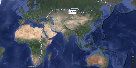 Map, World, Earth, Estuary,