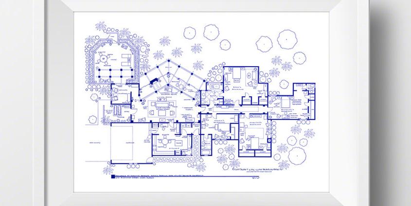 Golden Girls House Blueprints Are The Best Gift