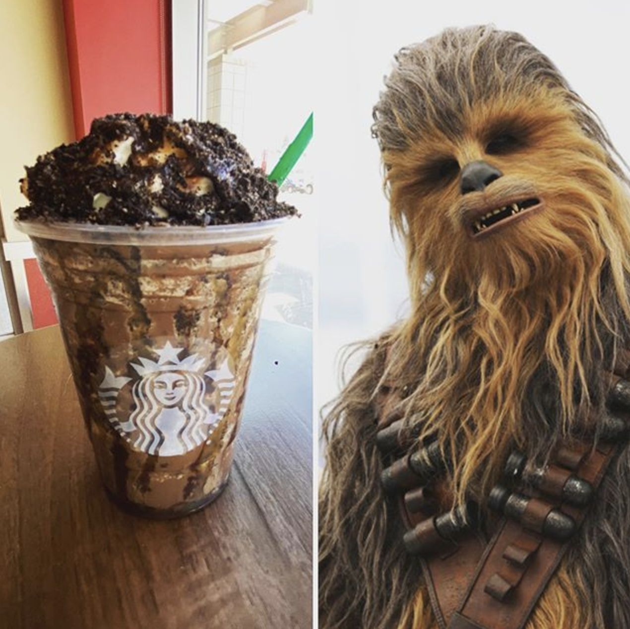 You Can Order a Chewbacca Frappuccino From Starbucks and It's Out of This World