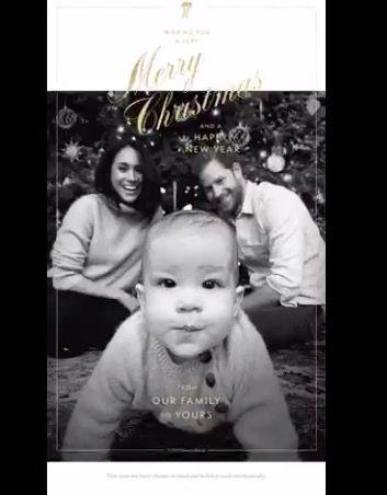 Royal family, Christmas card, Meghan Markle, Prince Harry, Archie Mountbatten-Windsor