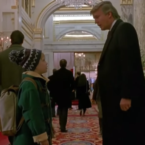 CBC Cuts Donald Trump 'Home Alone 2' Cameo From Canadian ...