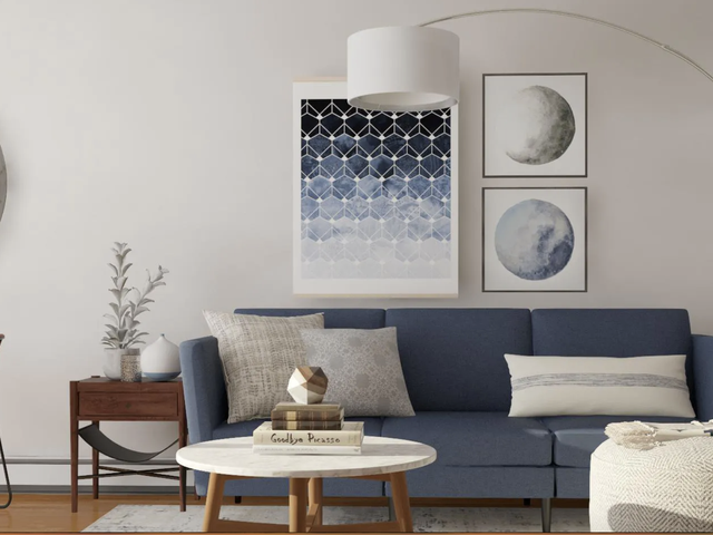 I Tried Modsy to Redecorate My Apartment Living Room on a Budget