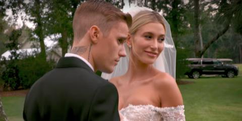 Bride, Wedding dress, Gown, Photograph, Dress, Bridal clothing, Formal wear, Facial expression, Romance, Suit,