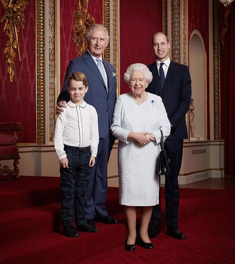 Royal family new decade portrait