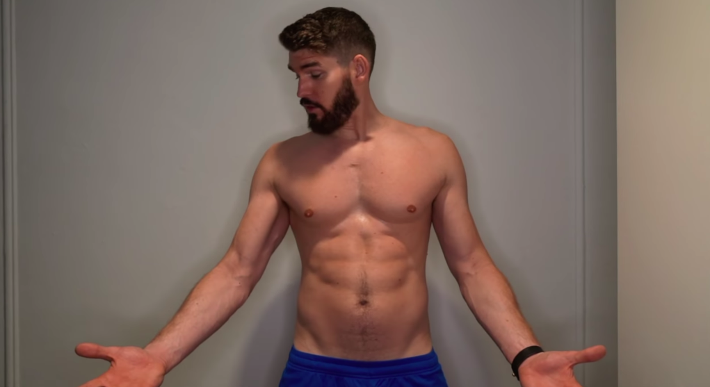 Watch What Happened When This Guy Ate and Worked Out Like Chris Hemsworth for 1 Month