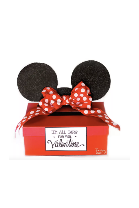 Minnie Mouse Valentine's Box