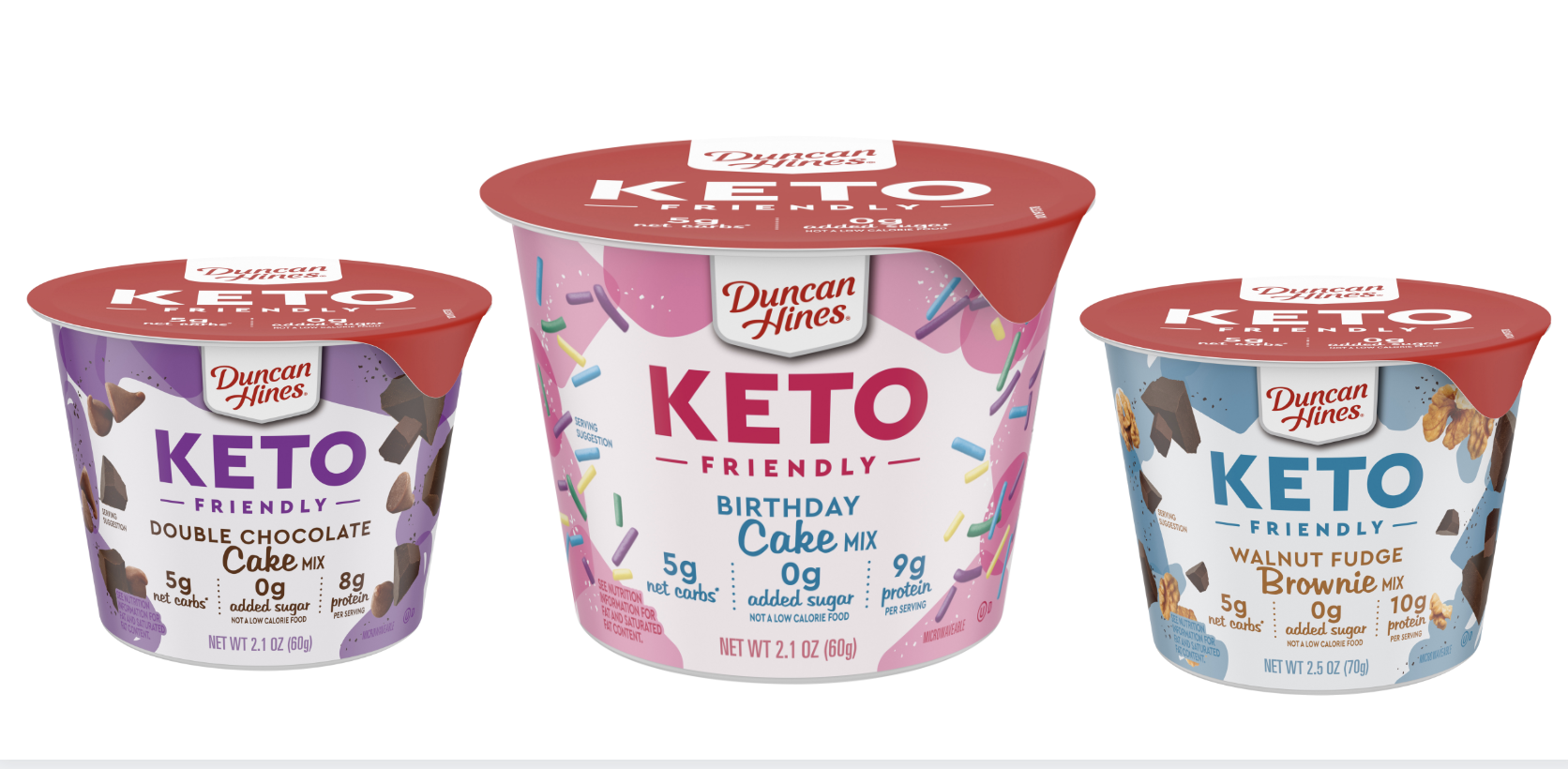 Duncan Hines Is Launching Keto Cake Cups You Can Make In The Microwave