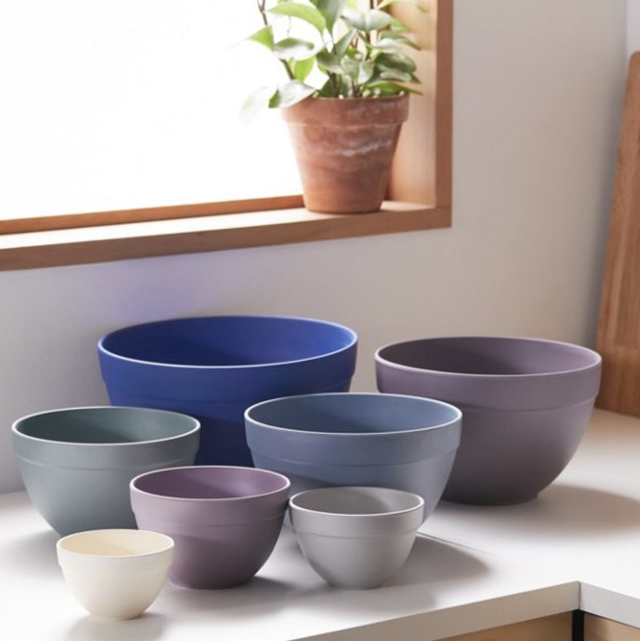Flowerpot, Bowl, Blue, earthenware, Pottery, Ceramic, Dishware, Tableware, Porcelain, Purple,