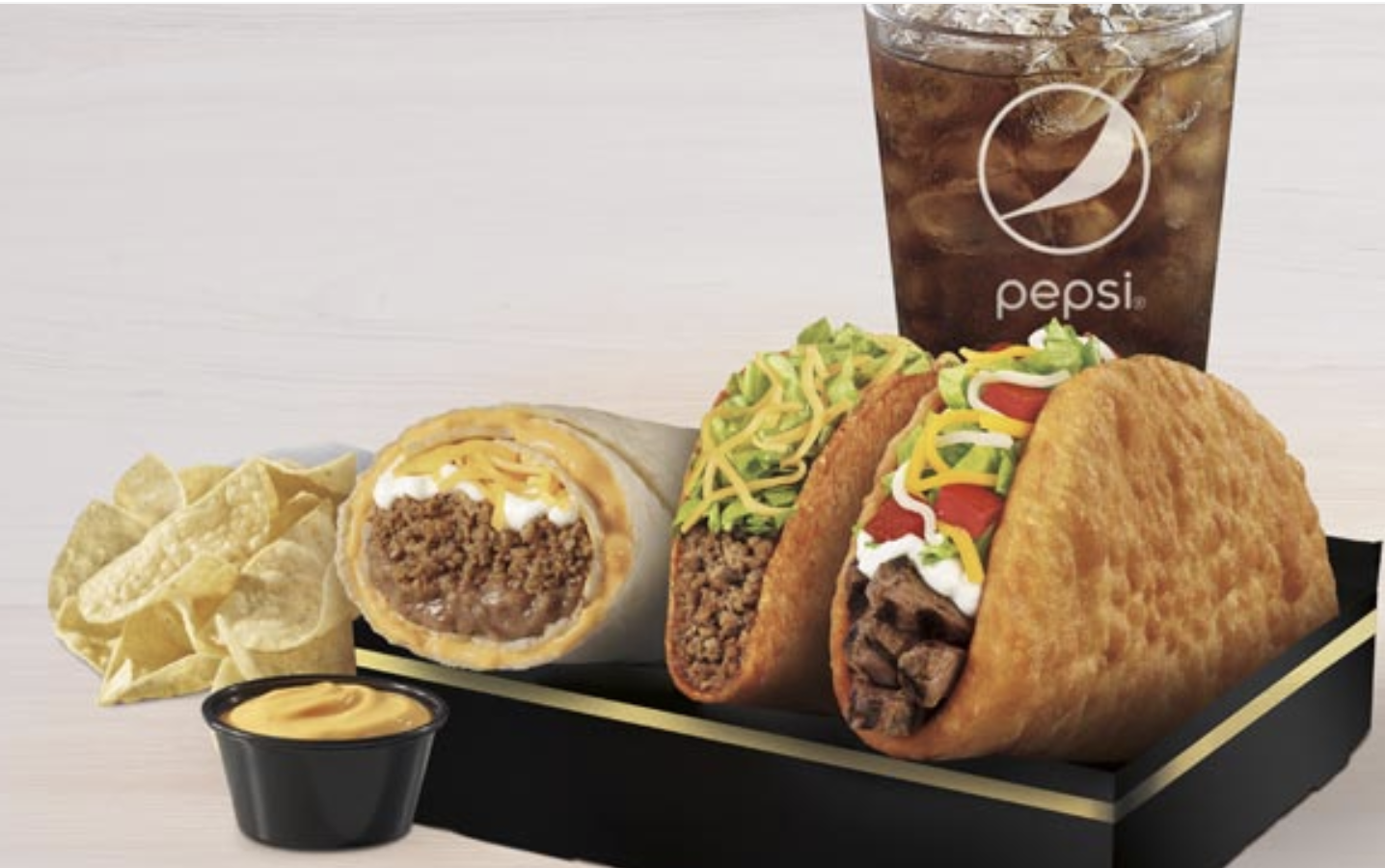 Taco Bell Is Selling A New Deluxe $7 Box Nationwide And It Comes With Way More Than The Chalupa Box