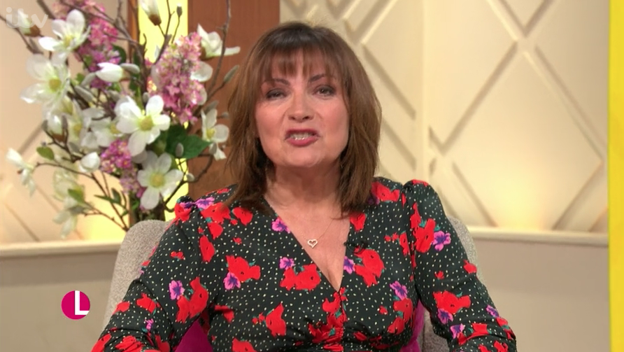 Lorraine Kelly shows us how to wear winter florals