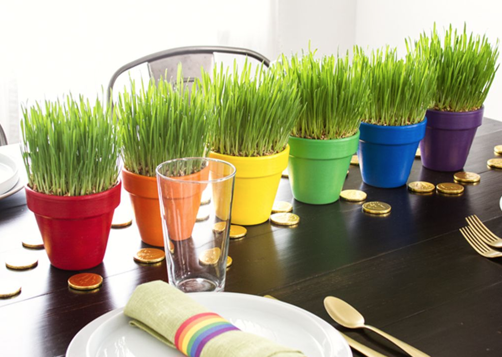 26 Seriously Easy and Fun St. Patrick's Day Decorations