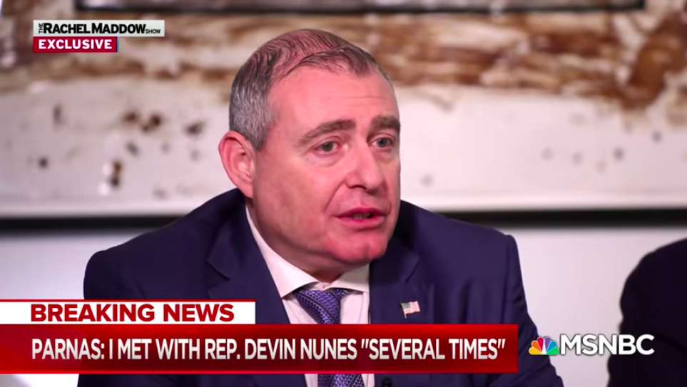 Rudy Giuliani's Ukraine Henchman Lev Parnas Roped in Everybody, But the Funniest Is Devin Nunes
