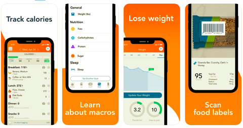 best calorie counting apps, women's health uk