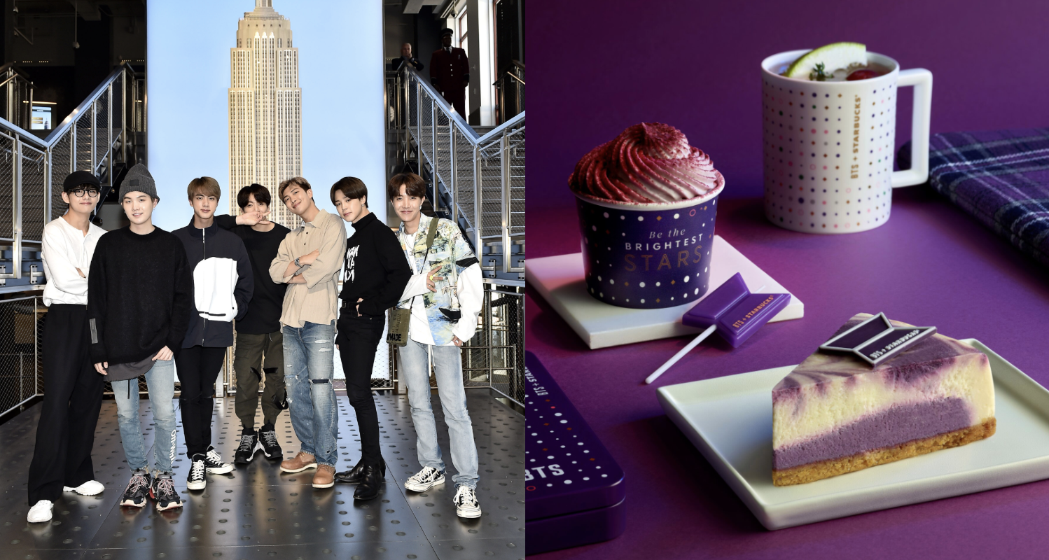 Starbucks Is Collaborating With K-Pop Group BTS