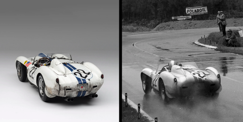 For Just $13,970, You Can Own a Race-Weathered Ferrari 250TR