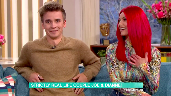 Strictly's Joe Sugg and Dianne Buswell address pregnancy rumours