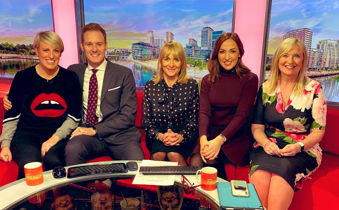 Steph McGovern bids emotional farewell to BBC Breakfast