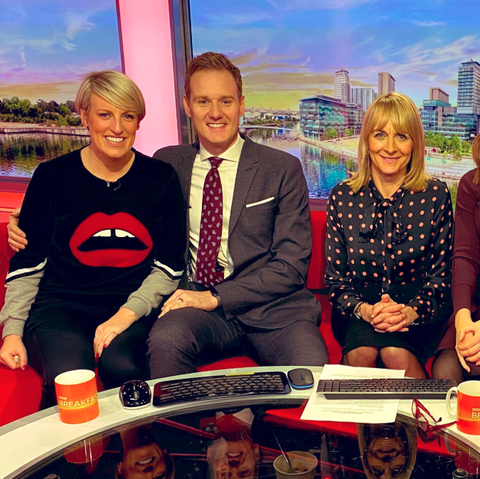 Steph McGovern says emotional farewell to BBC Breakfast