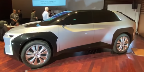 Subaru Gives First Look at Electric Crossover It Will Build with Toyota