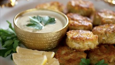 Dish, Food, Cuisine, Ingredient, Produce, Recipe, Vegetarian food, Fritter, Side dish, Dip,