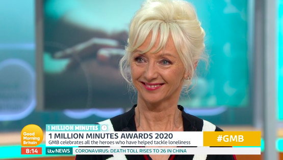 Debbie McGee opens up about about coping with grief