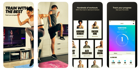 best fitness apps, fiit, woemn's health uk