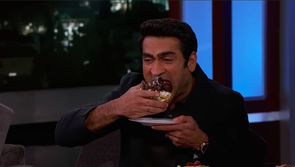 Kumail Nanjiani Just Ate Pizza and Cake for the First Time Since Starting His Superhero Body Transformation