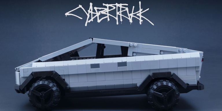 DIY Lego Cybertruck Takes a Big Step Toward Becoming a Real Set