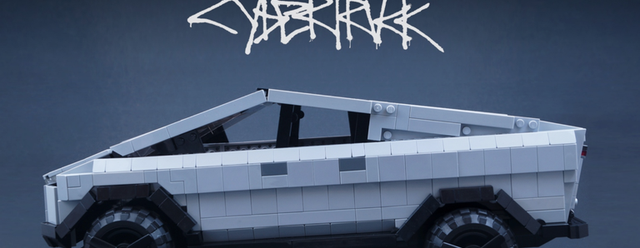 Lego Tesla Cybertruck Fan Model Gets 10,000 Votes to Become Real