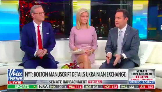 Fox & Friends Is Treating the Senate Coverup as a Part of Trump's Impeachment Strategy