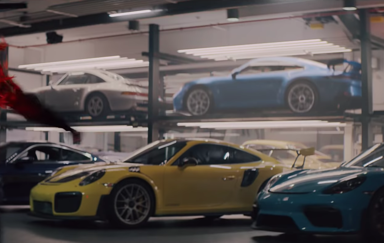New Porsche 911 Gt3 Makes Sneaky Debut In Super Bowl Ad