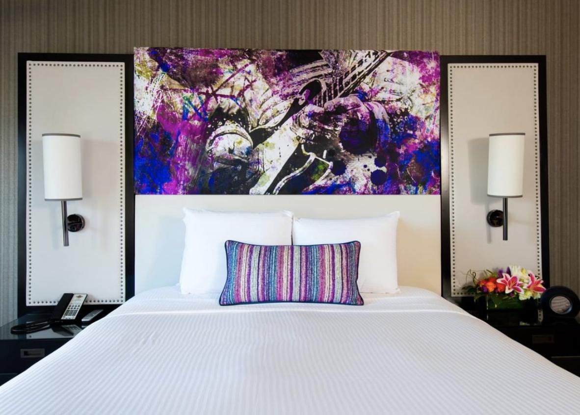 The Hard Rock Hotel In Las Vegas Is